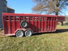 2000 Corn Pro Model SG-20-7H stock trailer
