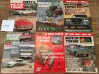 Complete Set of Motor Trend Magazines for 1962