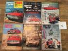 Complete Set of Motor Trend Magazines for 1963