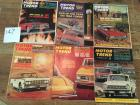 Complete Set of Motor Trend Magazines for 1964