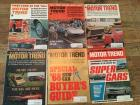 Complete Set of Motor Trend Magazines for 1967