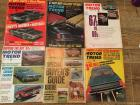 Complete Set of Motor Trend Magazines for 1966