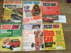 Complete Set of Motor Trend Magazines for 1968