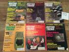 Complete Set of Motor Trend Magazines for 1972
