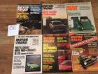 Complete Set of Motor Trend Magazines for 1973