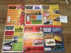 Complete Set of Motor Trend Magazines for 1974