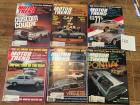 Complete Set of Motor Trend Magazines for 1977