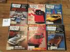 Complete Set of Motor Trend Magazines for 1980