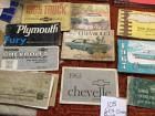 Owners Manuals, 1960s Chevrolet, Chevy Truck, Plymouth, Buick, 1966 Dodge Truck, Cadillac