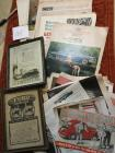 Ads from older magazines 20s, 50s, 60s, 2 framed ads, Poster book antique auto ads, Fords 50s, 60s, 20s, Cadillac
