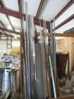 Assorted metal, copper tubing, all thread rod, pvc pipe