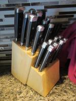 Martha Stewart knife set