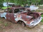 1957 Chevrolet 2-door sedan, parts car