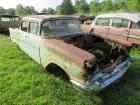 1957 Chevrolet 4-door sedan, parts car