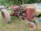 International Farmall M diesel tractor
