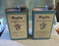 Vintage Maytag multi-motor-oil can by Maytag Company