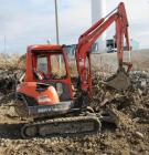 Kubota KX91-3 Super Series mini excavator