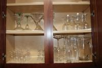 Assorted stemware
