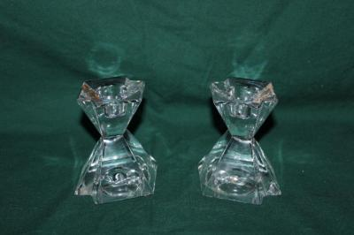 Crystal? candleholders