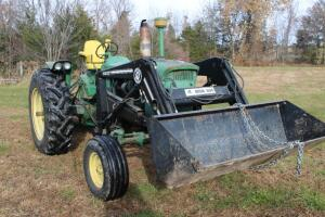 John Deere 3020 gas powered tractor