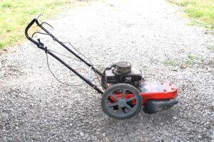 Ariens ST622 string trimmer on wheels