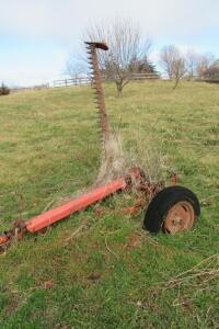 7' sickle bar mower, pull behind