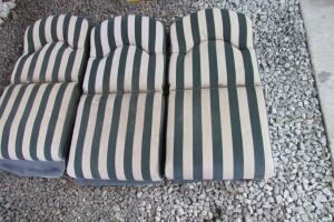 3 outdoor cushions