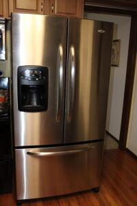 Maytag stainless 25 cu. ft. french door refrigerator
