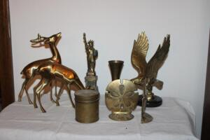 Brass figurines