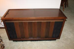 RCA console stereo system, working condition