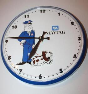 Maytag battery-operated clock