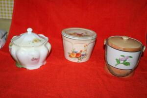 Universal Cambridge biscuit jar and others