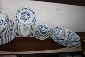 Blue Danube china set