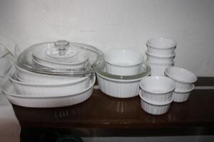 French White CorningWare