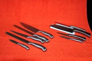 Hessler surgical stainless steel knives