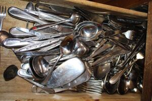Flatware, various patterns