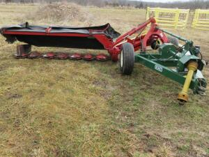 2007 New Holland 617 9' Disc Mower