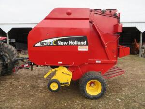 2003 New Holland BR780 Big Round Baler