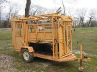 For - Most Model 450 Portable Squeeze Chute