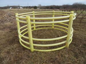 Yellow Plastic Big Bale Ring