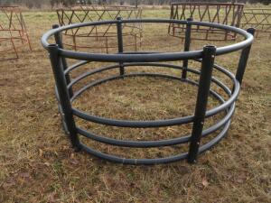 Century Black Plastic Big Bale Ring