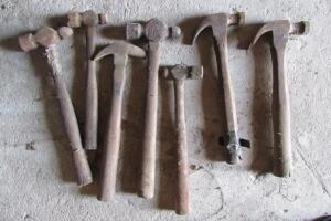 Wood handled hammers