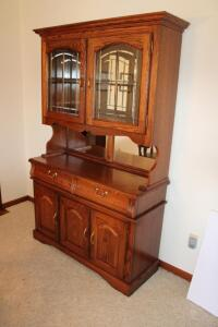 Winners Only, Inc. Lighted China Cabinet