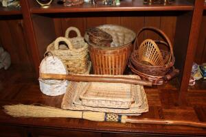 Assortment of baskets