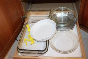 Corningware French White casserole
