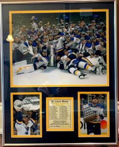 St. Louis Blues 2018-19 Champions Print