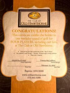The Club at Old Hawthorne Golf Package