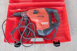 Hilti electric rotary hammer drill
