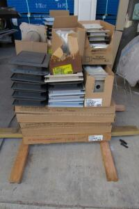 Exterior vents & vinyl outlet boxes