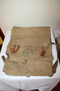Boy Scout canvas back pack